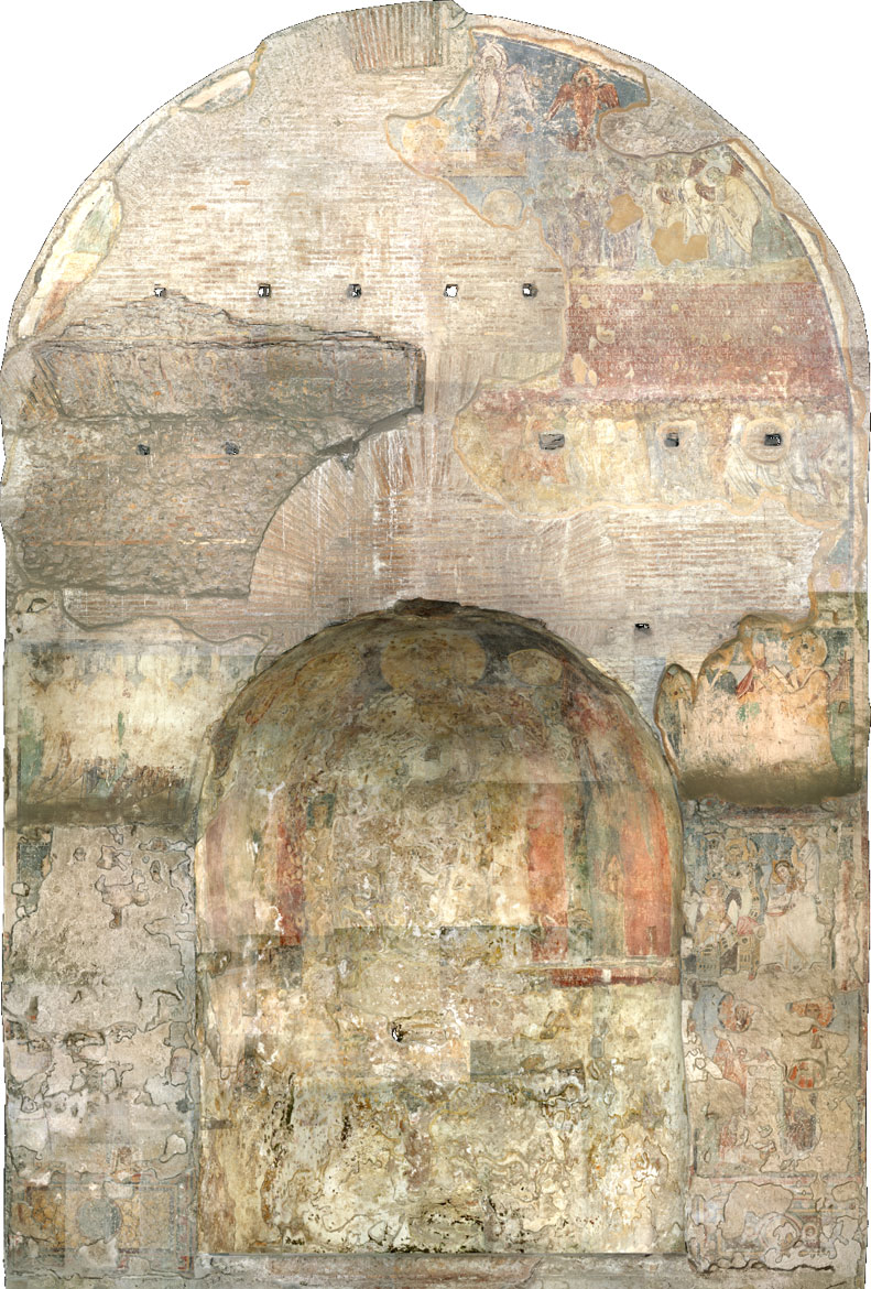 Apse of the Basilica of Santa Maria Antiqua, Roman Forum