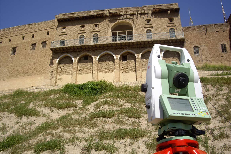 Archeologia formazione topografia Cittadella di Erbil Kurdistan Iracheno-Studio3R