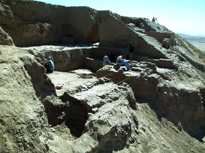 Archeologia scavo Tepe Sardar Studio 3R