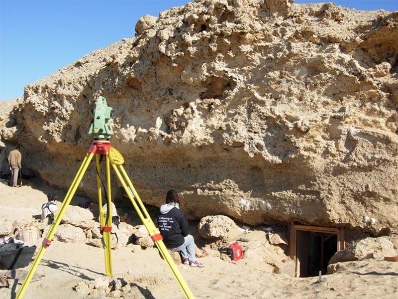 Archeologia scavo topografia Wadi Gawasis Studio 3R