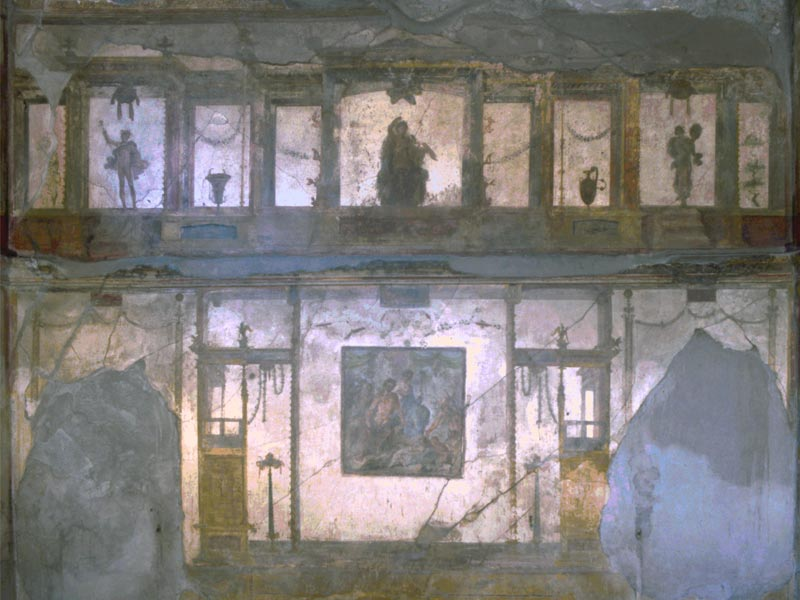 Pompei-Casa-dei-Vettii-affresco