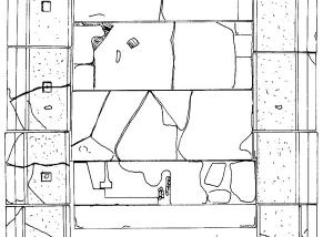 Detail of a Planimetry, Selinunte Malophoros - Trapani