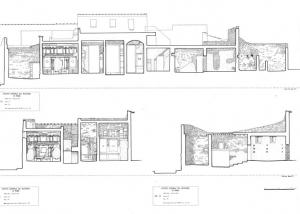 Archeologia rilievo sezioni Casa dei Vettii Pompei Napoli Studio 3R