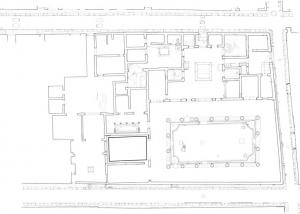 Archeologia rilievo planimetria Casa dei Vettii Pompei Napoli Studio 3R